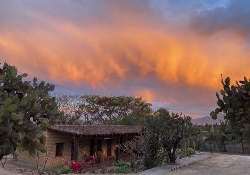 Sunset at Rancho Pitaya