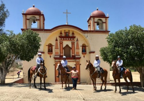 Riding the Valley of Ejutla in March